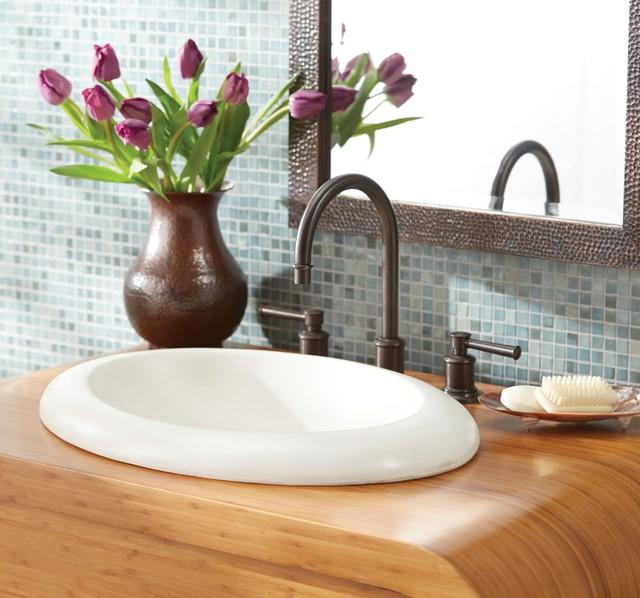 Cuyama NativeStone Bathroom Sink by Native Trails contemporary-bathroom-sinks