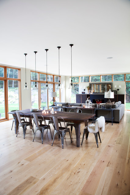 Country Crib modern dining room