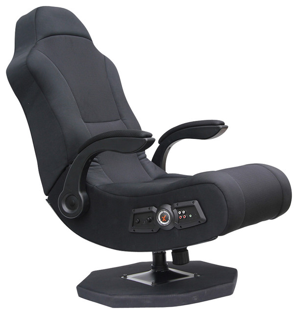 Ace Bayou X-Rocker - Commander Rocker 2.1 Wired Audio System - Black eclectic-chairs