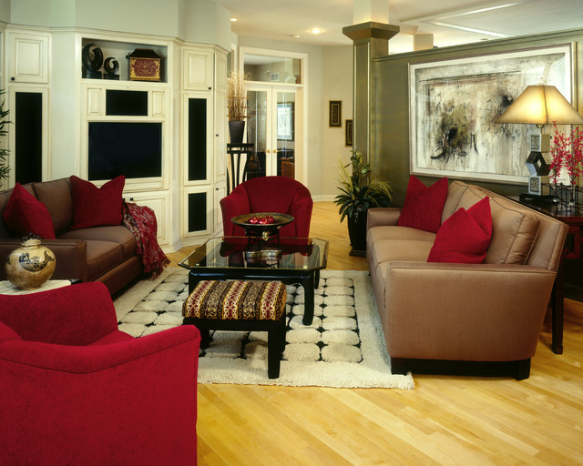 Transitional Great with Asian Flair eclectic
