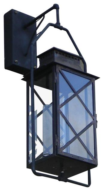 Aspen Medium Wall Mount Yoke Pendant Lantern Modern Outdoor Wall Lights A
