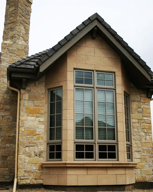 Columns window trim and header moldings and balcony trim for Decorative window trim exterior