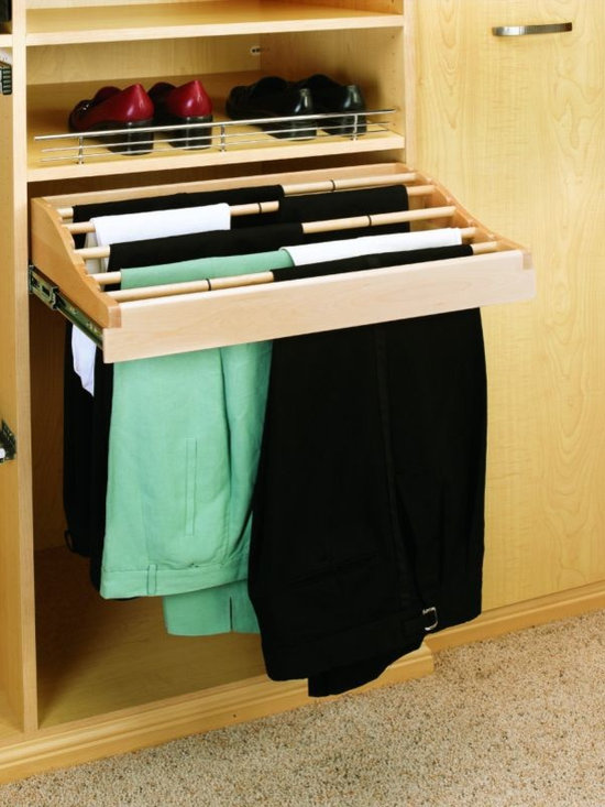 Product & Accessory Ideas - Sliding pants and slacks hang drawer