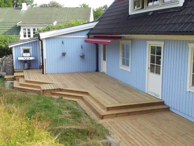 Old Projects traditional-deck