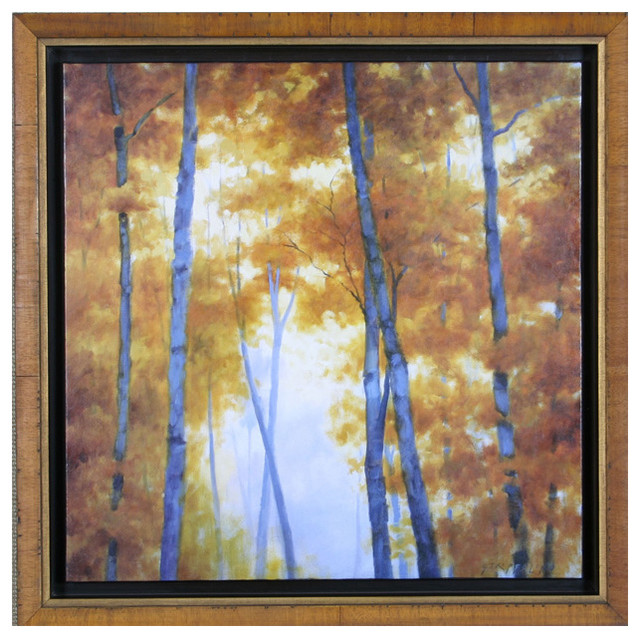 Davis Art Blue Wood Canopy Wall Art contemporary-artwork