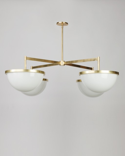 Nevins 14 Chandelier by Alan Wanzenberg for Remains Lighting modern-chandeliers