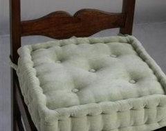 Sage Green Dining Chair Booster Cushion modern-seat-cushions