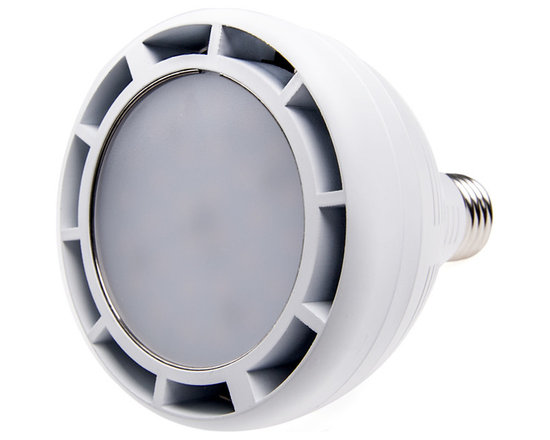 PAR30 LED Bulb, 40W - PAR30 40W series spot light LED replacement bulb for traditional PAR30 medium base bulbs. Light output comparable to 200+ Watt incandescent bulbs. Consumes just 40.8 Watts of power using 30 OSRAM White LEDs. Available in Natural White, or Warm White with 36° or 180° beam pattern.