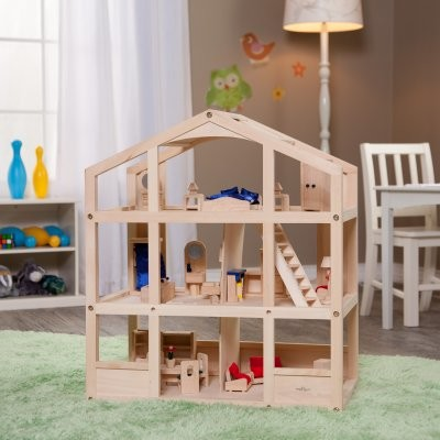 Small World Toys Ryans Room Home is Where the Heart Is Dollhouse modern-kids-toys-and-games