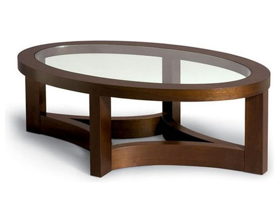 Nexus Oval Cocktail Table -