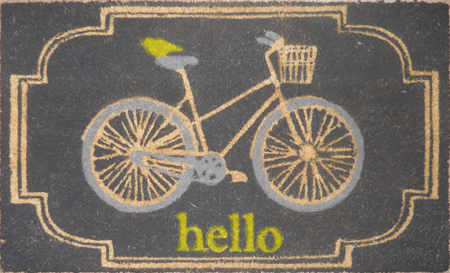 Allen + Roth Bleached Printed Rectangle Doormat - Contemporary - Doormats - by Lowe's
