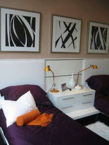 Kate Davidson Design Inc contemporary-bedroom