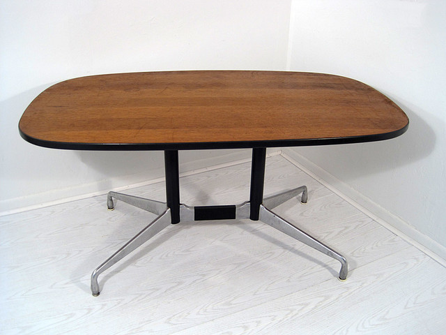 Mid-Century Eames for Herman Miller Conference Dining Table midcentury-dining-tables