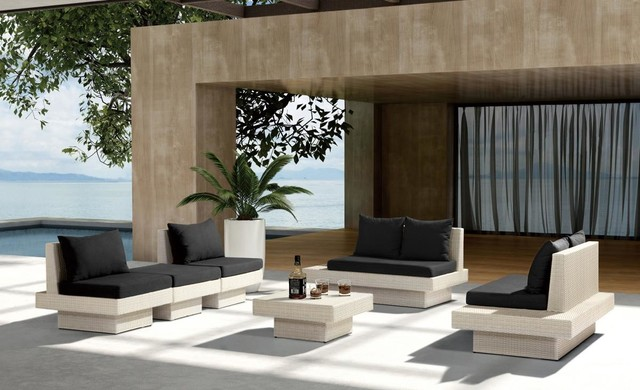 Patio furniture for high rollers modern patio - Sofas para terrazas ...