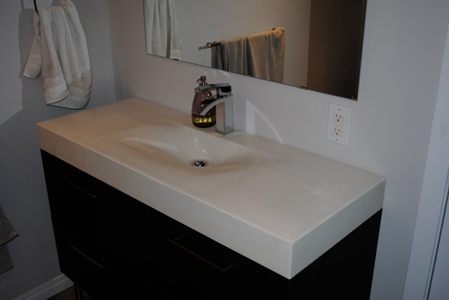 Vanity Countertop Options : ... Furniture / Bathroom Storage & Vanities / Vanity Tops & Side Spla...