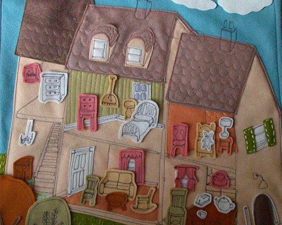 Felt Play House Scene - $100.00 : Craftsbury Kids -