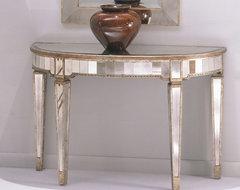 Bassett Mirror Borghese Console Table contemporary-console-tables