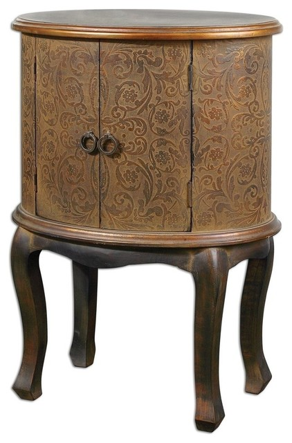 Uttermost Ascencion Accent Table contemporary-side-tables-and-end-tables