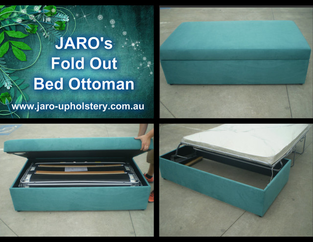 Fold Out Bed Ottoman Modern Futons Melbourne By
