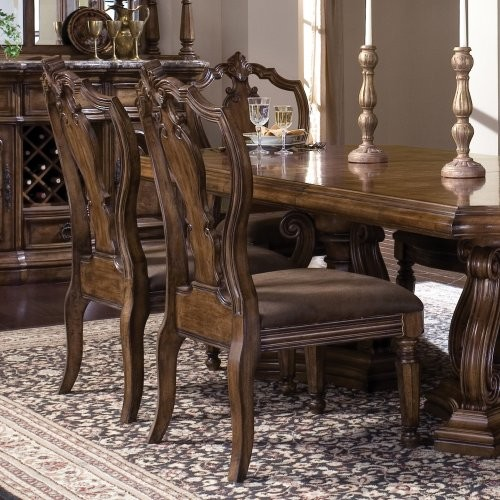 Pulaski San Mateo Dining Side Chairs - Set of 2 traditional-dining-chairs