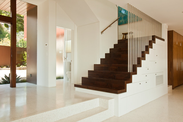 Sunset Plaza Residence contemporary-staircase