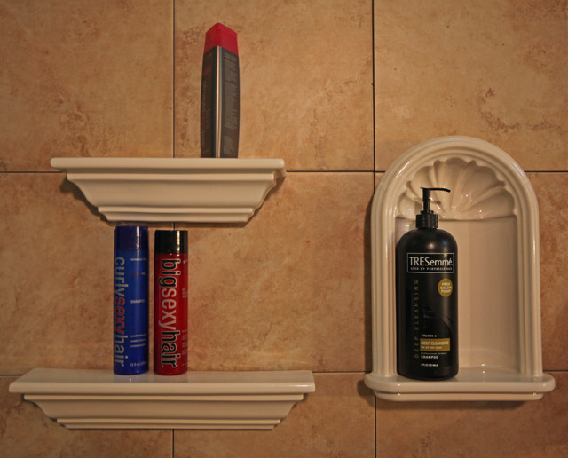 ... Tile Niches - Eclectic - Shower Caddies - dc metro - by Bathroom Tile