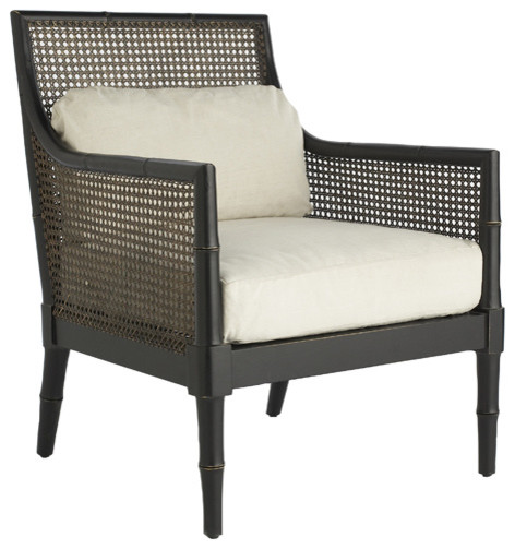 French colonial armchair traditional armchairs and accent chairs by wisteria for Images of couch for hall rennes