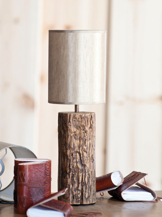 Fathers Day 2013-Unysyn Elm Timber Lamp - Unysyn Elm Timber Lamp
