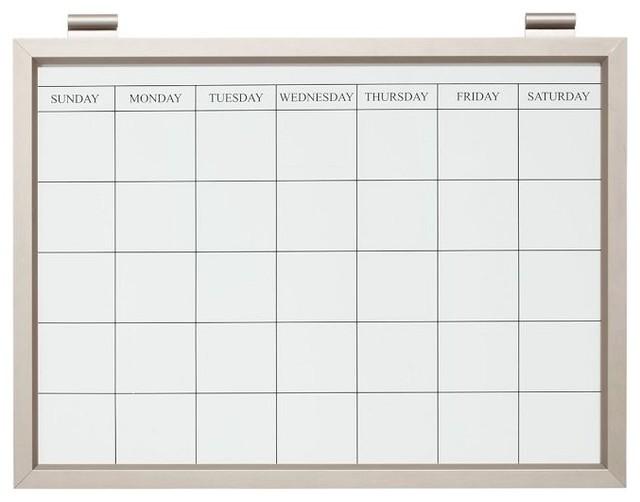 White Board Calendar   Calendar Template 2016