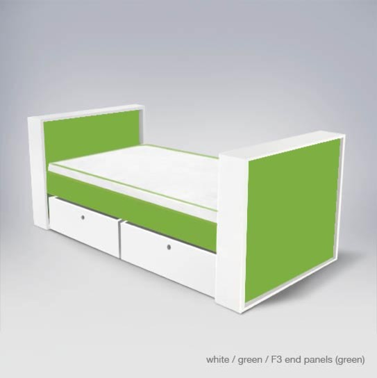 ducduc parker youth bed, twin modern-kids-beds