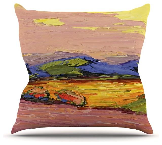 Southwestern Print Throw Pillows : Jeff Ferst