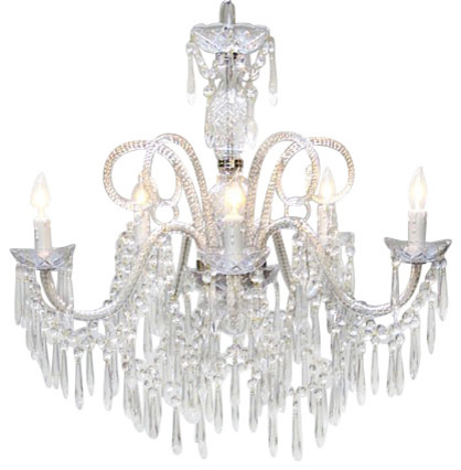 Murano Venetian style All Crystal chandelier traditional-chandeliers