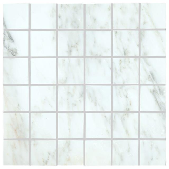 Arabescato carrara marble kitchen and bathroom 2x2 honed for Bathroom design 2x2