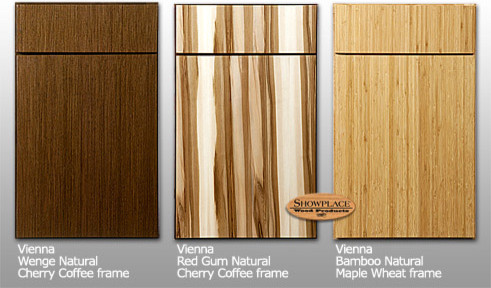 Showplace Cabinets: Vienna style | Exotic species - Contemporary - Kitchen Cabinetry - other ...