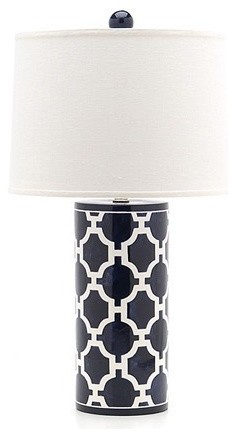 Jill Rosenwald Studio Hampton Links Lamp eclectic-table-lamps