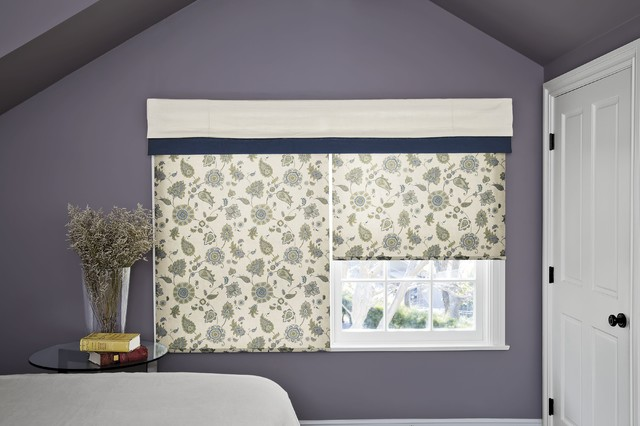 Smith and Noble Classic Roller Shades contemporary-window-treatments