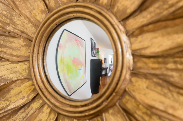 Designer House , Charleston Symphony League, Lady's Office/Retreat eclectic-mirrors