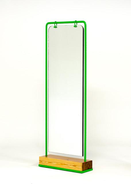 Nefertiti double sided dressing mirror modern floor