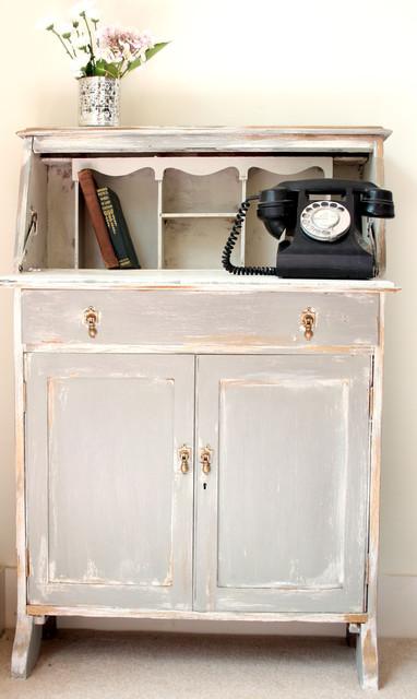Vintage Bureau eclectic-home-office