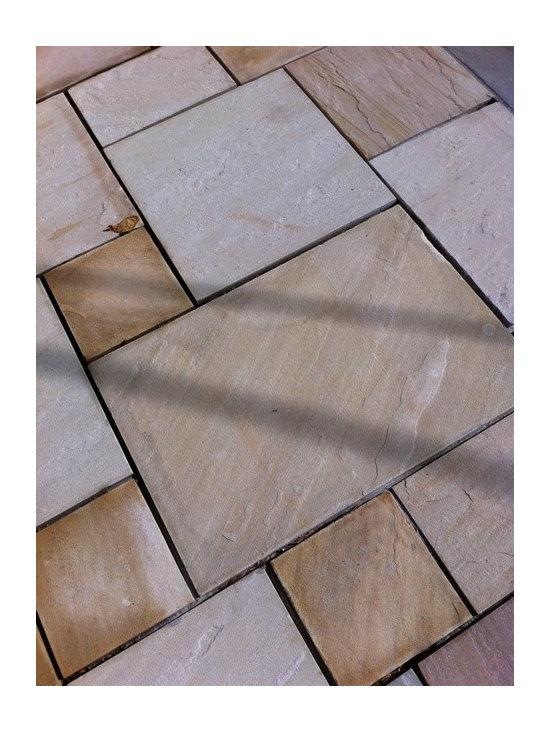 Buff Sandstone Pavers - Cumberland Buff Sandstone