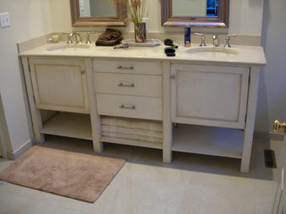 Bathroom cabinets vanities eclectic philadelphia by fox and wolf inc for Bathroom vanities philadelphia