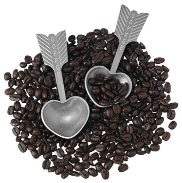 Heart Coffee Scoop eclectic serveware