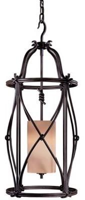Aspen II Mini Foyer Pendant by Minka-Lavery pendant-lighting