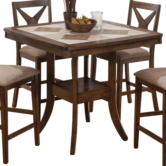 counter height dining table houzz collections