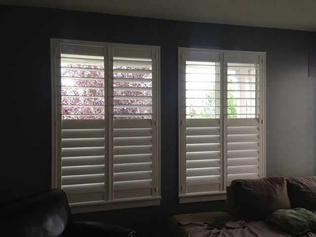 Norman Pure Vu Shutters With Split Tilt