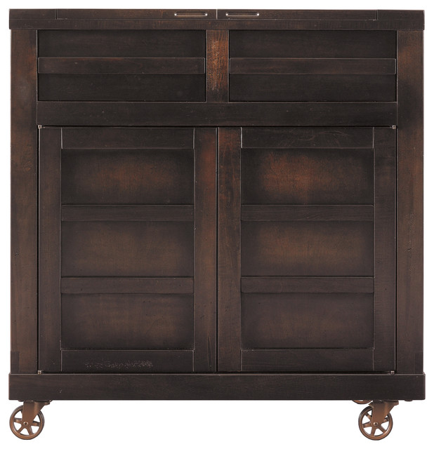 Modern Craftsman Transom Top Taboret craftsman-buffets-and-sideboards