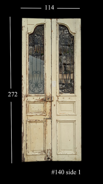 Doors antique reclaimed and salvaged mediterranean for Recycled front doors