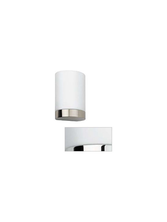 Tin Round Wall Lamp \ Sconce By Flos Lighting - Wall Scone providing diffused and direct light.