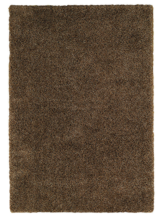 Chill Out rug in Chocolate Grey - Austin Powers has nothing on us.  Our Chill Out shag is fashion for the floor with trend setting style in an on-trend color palette.