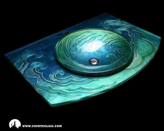 Ocean Inspired Textures, Vessels and Countertops -